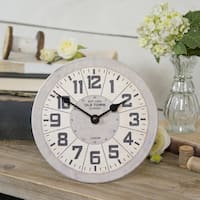 Antique  Metal Table Clock