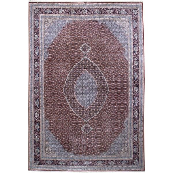 Vintage Oriental, Handknotted Wool Rug - 9'7'' x 14'1''/10' x 14'