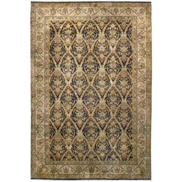Vintage Kerman, Handknotted Wool Rug - 10' x 14'/10' x 14'8''