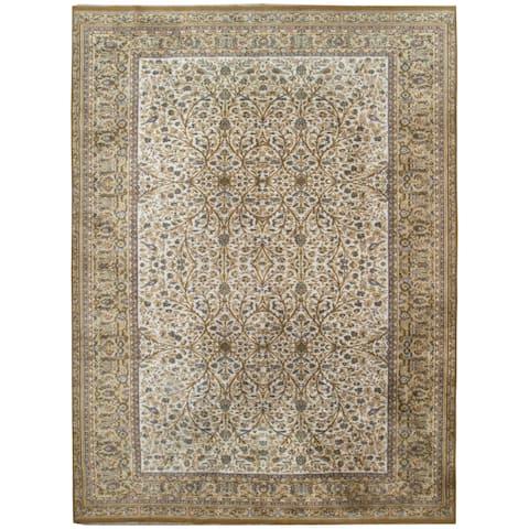 Vintage Oriental, Handknotted Wool Rug - 8'1'' x 11'1''/8' x 11'