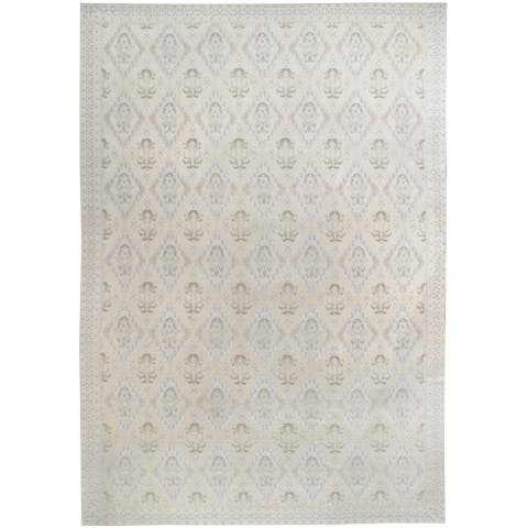 Vintage Transitional, Handknotted Wool Rug - 12' x 17'/11'8'' x 17'4''