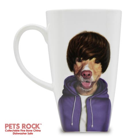 "Pets Rock ""Teen"" Collectible Fine Bone China Mug"