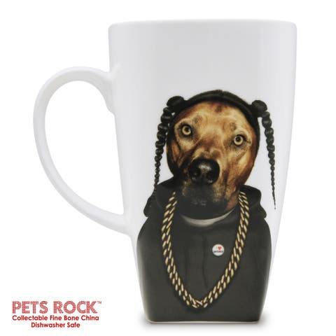 "Pets Rock ""Rap"" Collectible Fine Bone China Mug"