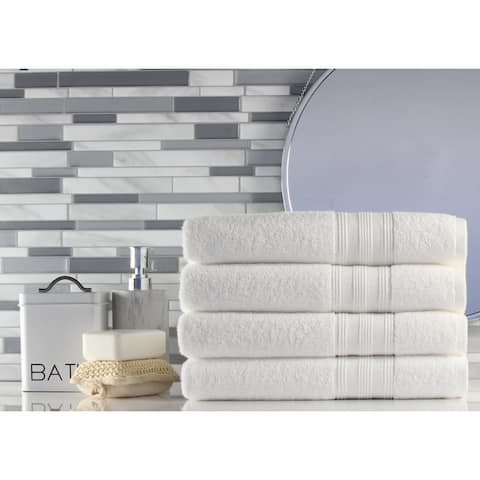 Freshee Bath - 4-pack Bath Towel Set - Solid