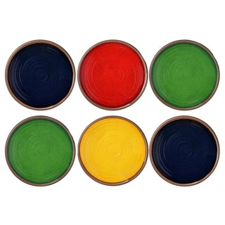 Link to Melange 6-Piece Melamine Dinner Plate Set (Clay Collection ) Similar Items in Dinnerware