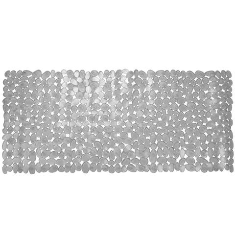 Anti-Slip Pebble Bath Mat, Clear