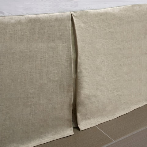 Thread and Weave Aberdeen Bedskirt