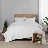 Vue Fairfax 3 Piece Geo Cotton Quilt Set