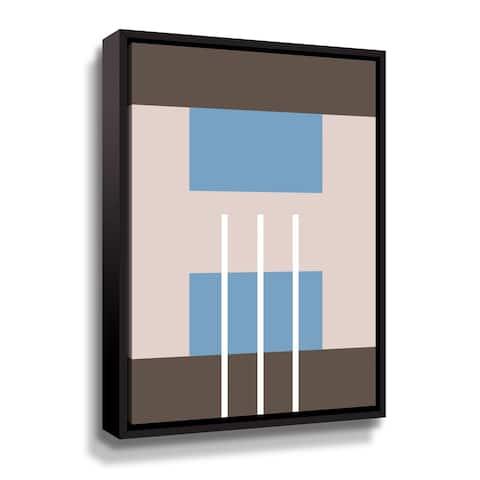 Artwall Static I Floater-Framed Canvas