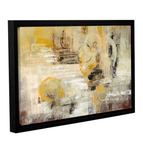 Artwall Soft Glow Floater-Framed Canvas