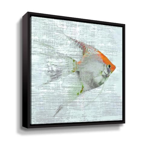 Artwall Sushiie V Floater-Framed Canvas