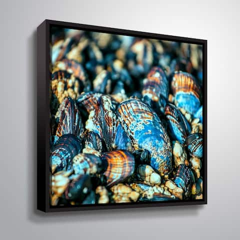 Artwall Salt of the Sea I Floater-Framed Canvas