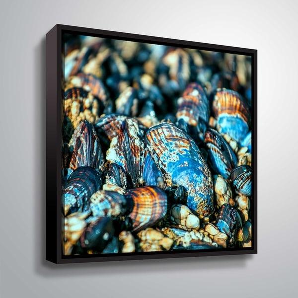 Artwall Salt of the Sea I Floater-Framed Canvas. Opens flyout.