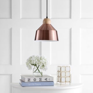 Safavieh Lighting Dajana Adjustable 1-light LED Copper Pendant (As Is Item)