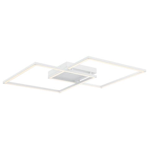 Squared 30-inch White LED Ceiling/ Wall Sconce