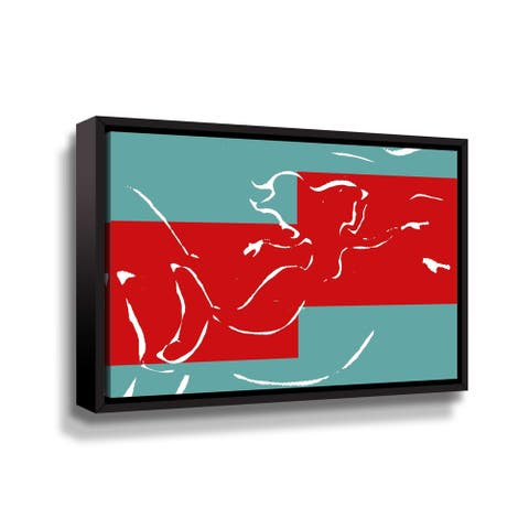 Artwall Wonderland I Floater-Framed Canvas