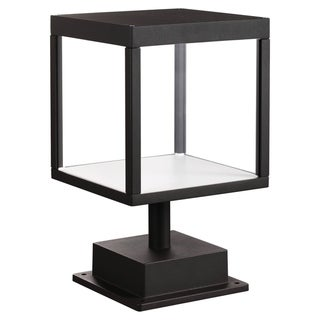 Link to Reveal 1-light Black LED Outdoor Square Pier Mount, Clear Glass Similar Items in Pier Mount Lights
