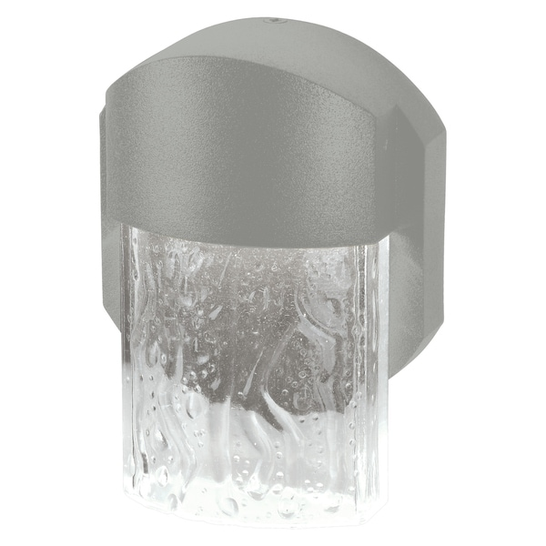 Mist 1-light Satin Marine Grade LED Outdoor Medium Wall Sconce. Opens flyout.