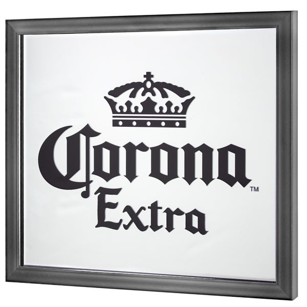 Corona Extra Screen Printed Mirror - Black