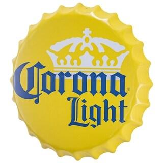 Corona Light Bottle Cap Shaped Beer Wall Decor