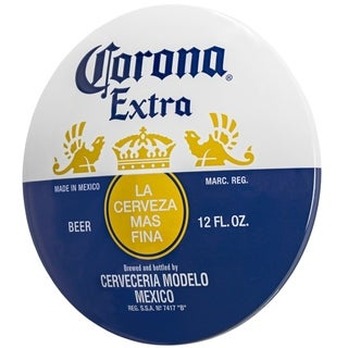 Corona Extra Dome Shaped Metal Sign Wall Decor