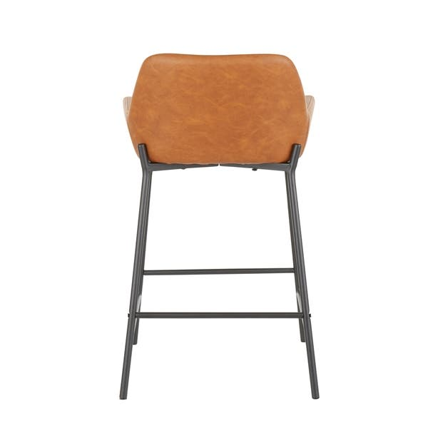 Phenomenal Shop Daniella Industrial Counter Stool Set Of 2 N A Gamerscity Chair Design For Home Gamerscityorg