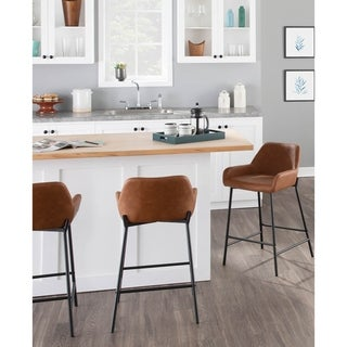 Daniella Industrial Counter Stool (Set of 2)