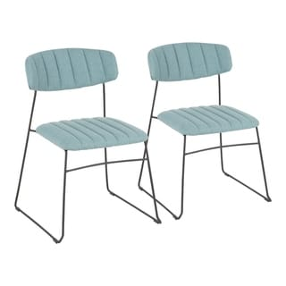 Link to Thomas Contemporary Upholstered Chair (Set of 2) - N/A Similar Items in Dining Room & Bar Furniture