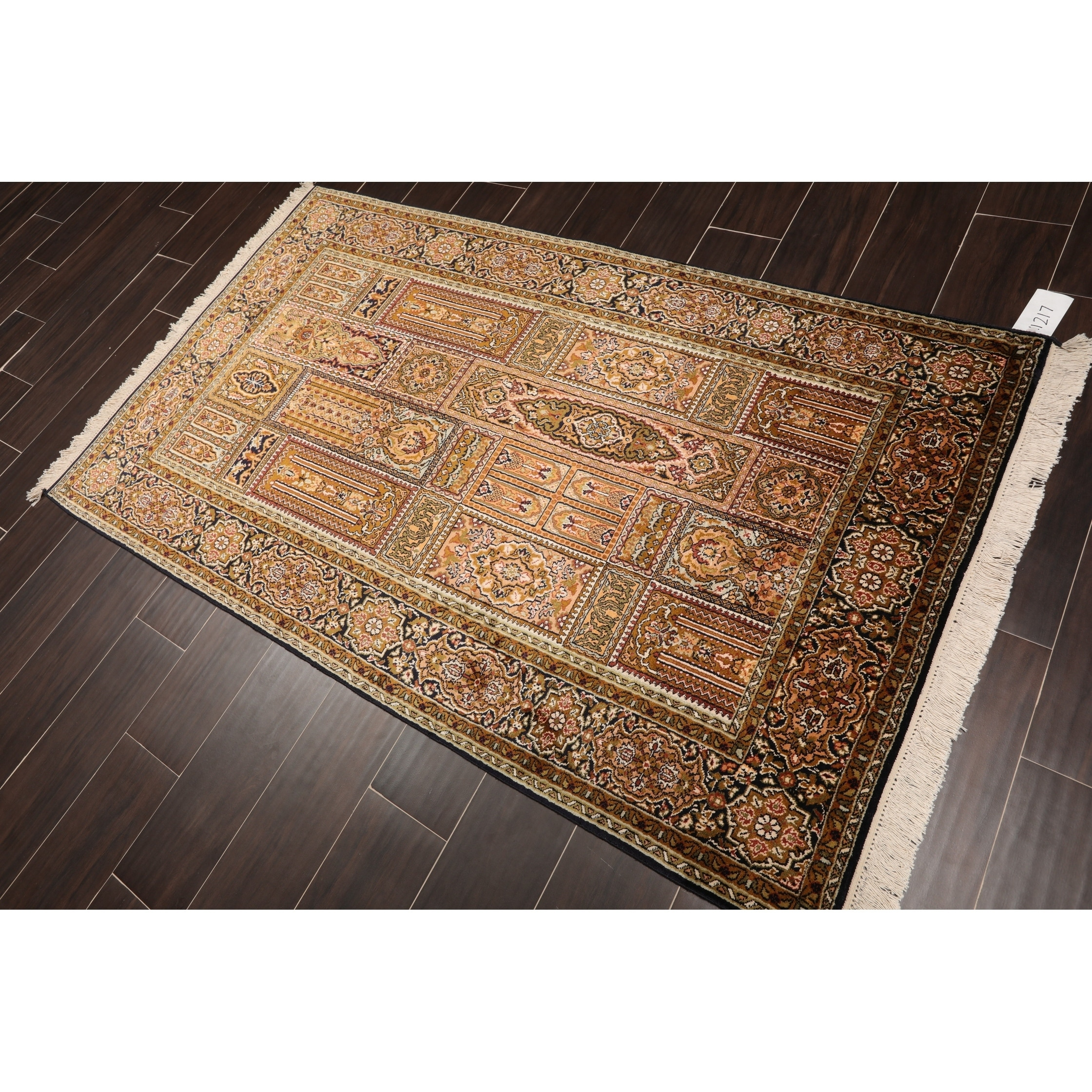 Hand Knotted Multi Panel Kashmir