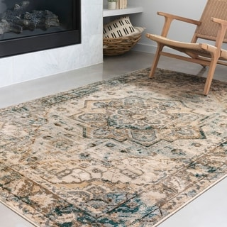 Link to Alexander Home Karla Traditional Area Rug Similar Items in Transitional Rugs