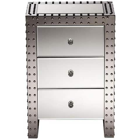 Hollywood Nightstand Bedside Table