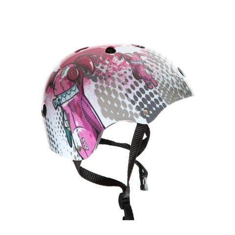 Punisher Voodoo Skateboard Helmet, 11-Vents, Youth Size Medium