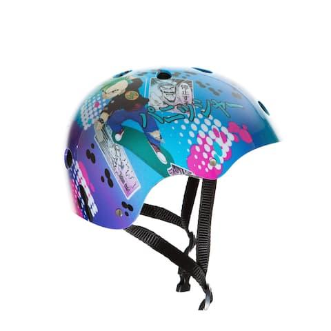 Punisher Anime Skateboard Helmet, 11-Vents, Youth Size Medium