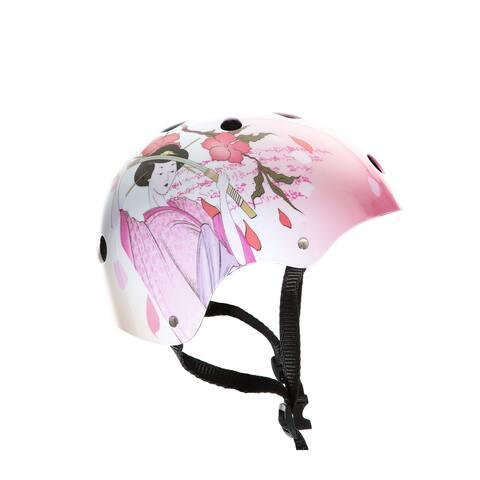 Punisher Samurai Skateboard Helmet, 11-Vents, Youth Size Medium