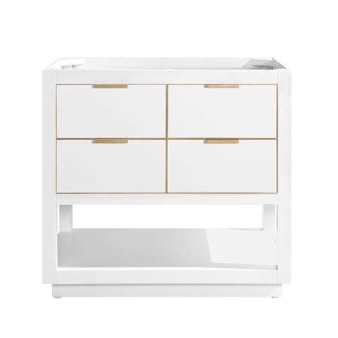 Avanity Allie 36 in. Single Bathroom Vanity Cabinet Only in White