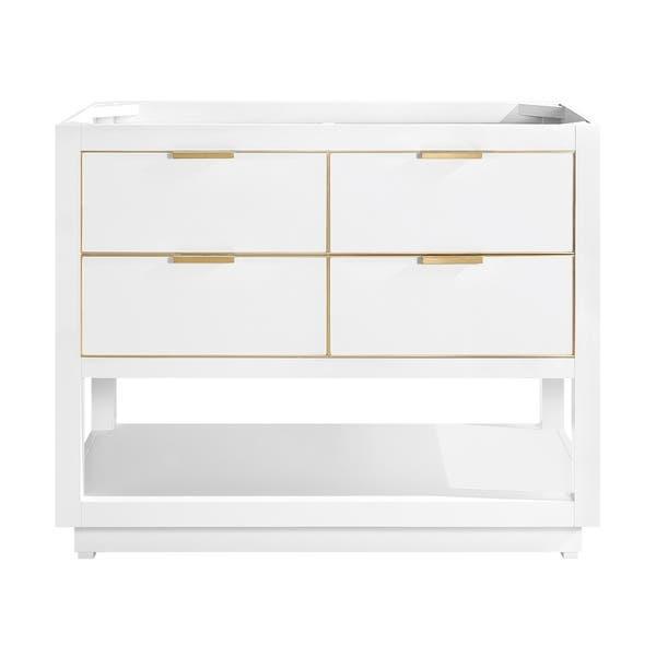 Shop Avanity Allie 42 In Single Bathroom Vanity Cabinet Only In