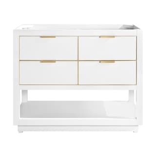 Avanity Allie 42 in. Single Bathroom Vanity Cabinet Only in White