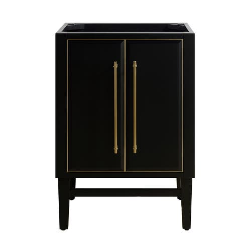 Avanity Mason 24 in. Single Bathroom Vanity Cabinet Only in Black