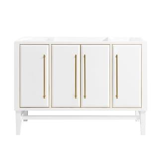 Avanity Mason 48 in. Single Bathroom Vanity Cabinet Only in White