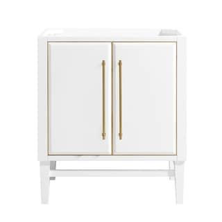 Avanity Mason 30 in. Single Bathroom Vanity Cabinet Only in White