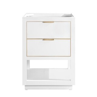Avanity Allie 24 in. Single Bathroom Vanity Cabinet Only in White