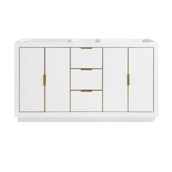 Austen 60 in. Single Bathroom Vanity Cabinet Only in White