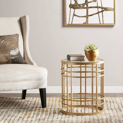 Buy Gold, Glass Coffee, Console, Sofa & End Tables Online at ...