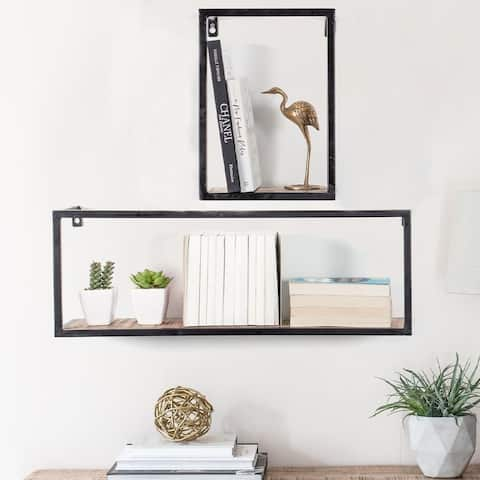 Bradley Set Of 2 Shelf