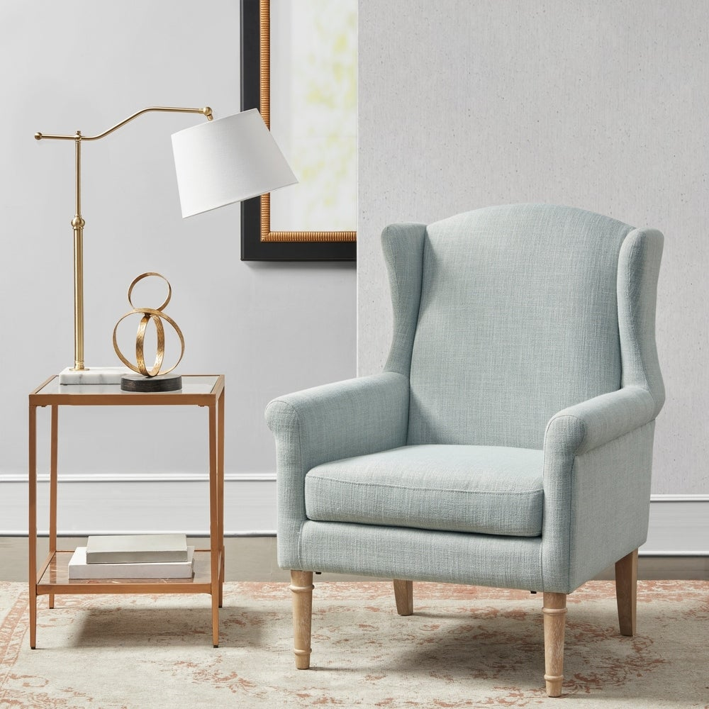 Reading nook accent chair