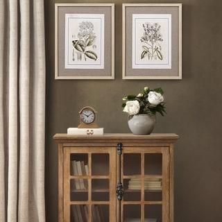 Martha Stewart Tinted Botanical Set Single Linen Mat 2 Piece Set