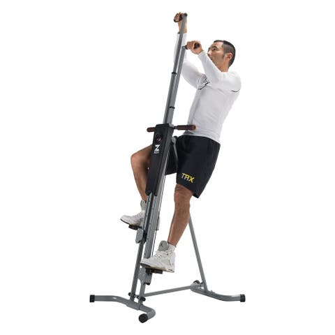 Folding Vertical Stair Climber Exercise Machine