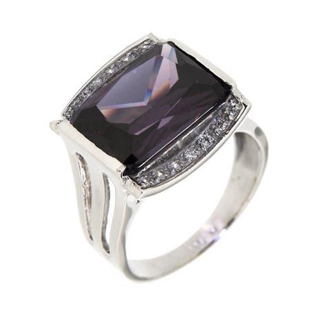 "Forever Last Sterling Silver ""Amethyst"" Ring"
