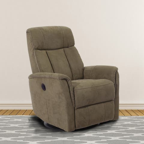 Heddon Swivel Glider Power Recliner w/ Battery