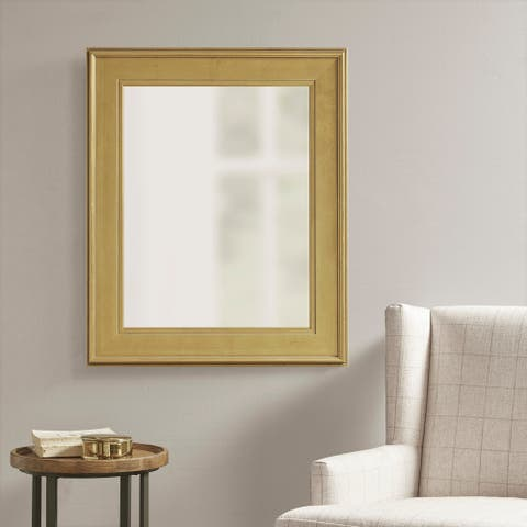 Martha Stewart Westchester Antique Gold Rectangle Accent Mirror - Antique Gold